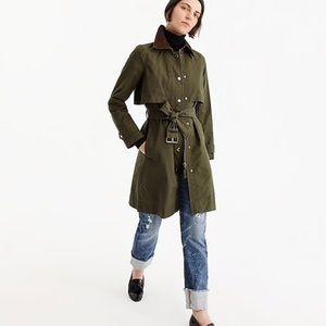 Jcrew field trench coat size M